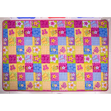 Kids Pink Rugs by Girls Colourful Pink Fun Kids Butterfly Patchwork Rug Kukoon