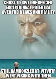 God Meme - god is watching you masturbate memes imgflip