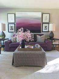 Moderne Wandgestaltung Wohnzimmer Lila Hausdekorationen Und Modernen Möbeln Ehrfürchtiges Dekoideen