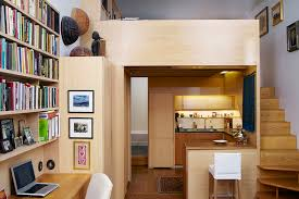 efficient design of a tiny apartment loft in nyc idesignarch