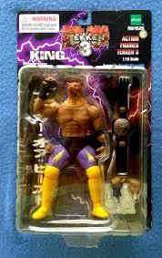 King Of Backdrops King Anger Of Beast Tekken 3 1998 Epoch 1 10 Scale 7 Inch Figure