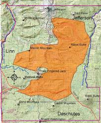 a map of oregon fires b b complex homepage