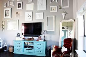 Organizing A Living Room by Tv Console Organization Ask Anna