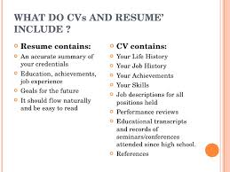 what should a resume include 15 you put in vosvetenet be included