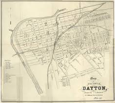Dayton Map Dayton Ohio