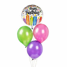 happy birthday balloon happy birthday balloon bouquet gifts online fresh flowers