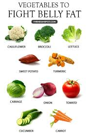best vegetables to get rid of belly fat weight loss lose belly