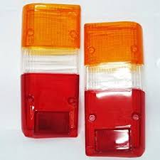1990 toyota pickup tail light lens driver and passenger taillights tail ls toyota pickup 4runner suv