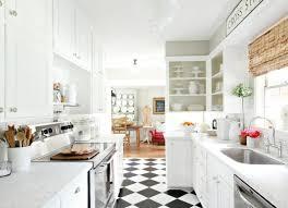 carrelage cuisine carrelage cuisine en noir et blanc 22 intérieurs inspirants
