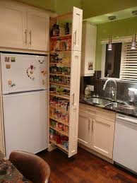 White Kitchen Pantry Cabinet Catchy White Wooden Narrow Kitchen Pantry Cabinet Over Laminate