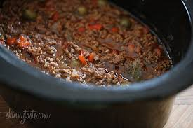 Main Dish Crock Pot Recipes - crock pot picadillo skinnytaste
