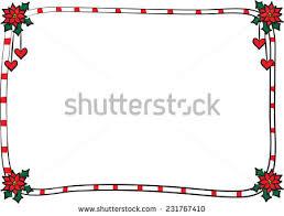 vector merry christmas card border frame stock vector 231767422