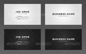 simple business card template ikwordmama info