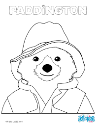 paddington bear coloring pages coloringpagesabc for paddington