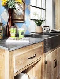 meuble cuisine zinc meuble de cuisine bois et zinc design d intérieur