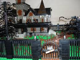 halloween decorations for haunted house haunted house fence trees lego ideas pinterest haunted