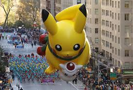 errant balloon bursts but macy s parade rolls on with floats
