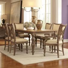 riverside furniture windhaven 7 piece legged dining table