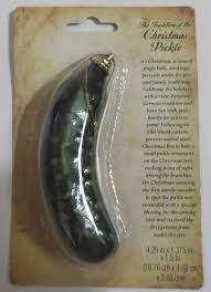 hide the pickle what s your tradition semo net