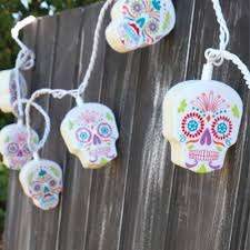 Novelty String Lights by Sugar Skull String Lights Novelty Party Lights