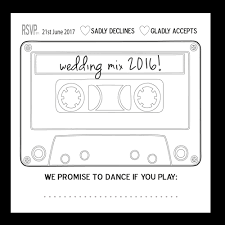 wedding song request cards song request rsvp 124 x 124mm wedding cards direct