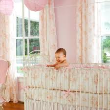 Vintage Style Crib Bedding Vintage Style Nursery Curtains Outstanding Pink Crib Bedding