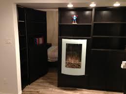 ikea bookcase with doors secret bookcase door open stashvault