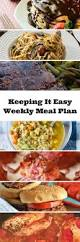 Plan 4 by Easy Weekly Meal Plan 4 My Fearless Kitchen