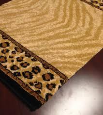 Cheetah Runner Rug Animal Print Carpet Runner Custom Stair Carpet Runners