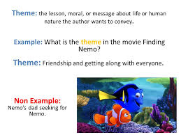 Seeking Theme Learning Objective Determine The Theme Of A Poem Using Details