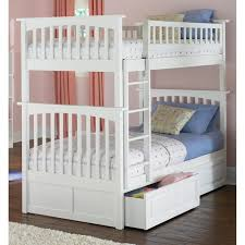 Twin Loft Bed Plans by Bunk Beds Twin Loft Bed With Desk Loft Over Queen Target Bunk