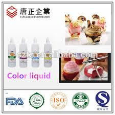 coloring agent food grade spray pigment edible color liquid