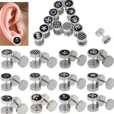 cool studs for guys cool earring for guys beautify themselves with earrings