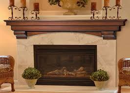 auburn fireplace mantel decor with candles above shelf fireplace