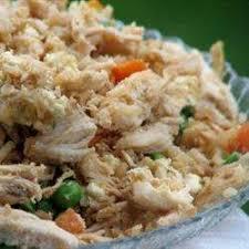 cuisiner restes de poulet riz frit chinois au poulet recettes allrecipes québec