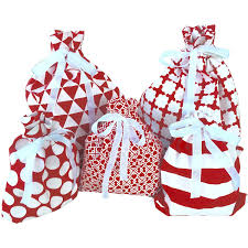amazon com reusable fabric gift bags wrap presents in seconds