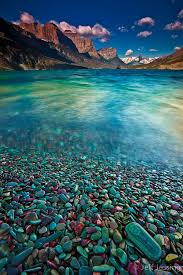 Montana travel list images Glacier stones st mary lake glacier national park montana jpg
