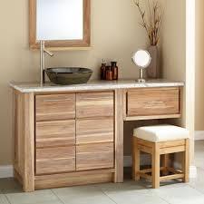 Bathroom Vanity With Makeup Counter by Bathroom Vanity With Seating Area Arlene Designs