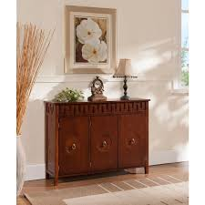 Apothecary Console Table K U0026 B R1320 Walnut Wood Console Table Free Shipping Today