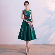 popular elegant satin long dress buy cheap elegant satin long