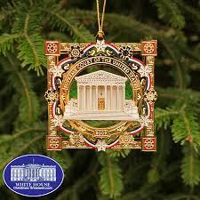 2009 white house ornament rainforest islands ferry