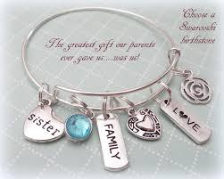 gift for sister sister gift ideas sister charm bracelet