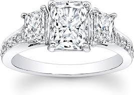 3 engagement rings 3 trapezoid engagement ring scs1277b