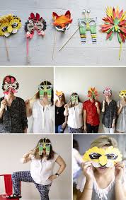 a crafty halloween mask diy think make share