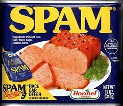 a spam thanksgiving hawaiian time machine