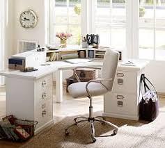 Corner Craft Desk Home Office Desks Writing Desks Craft Tables Pottery Barn