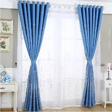 pictures of curtains star patterns romantic kids bedroom blue nursery curtains
