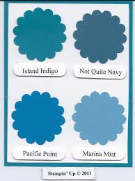 new stampin u0027 up in color island indigo stamping with linda