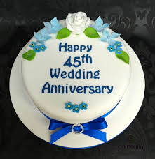 45 wedding anniversary wedding anniversary cakery bay bespoke cakes by louisa nycz in