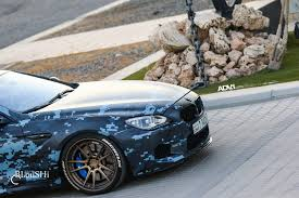 blue camo lamborghini digital blue camo bmw m6 gran coupe adv5 2 track spec sl wheels